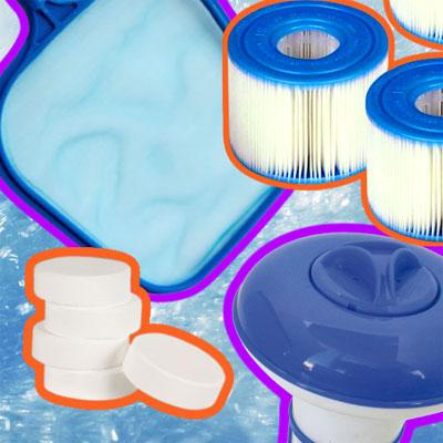 Quels accessoires pour un spal ou jacuzzi gonflable 4 places