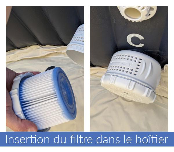 Boîtier filtre du jacuzzi/Spa Intex