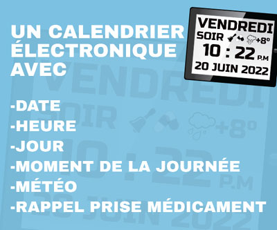 Fonctions du calendrier senior