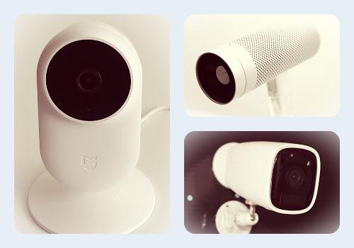 Caméra de suurveillance pour l'intérieur