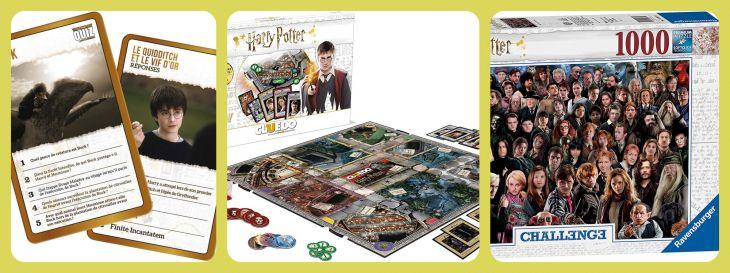 Contenu à choisir dans Box Harry Potter