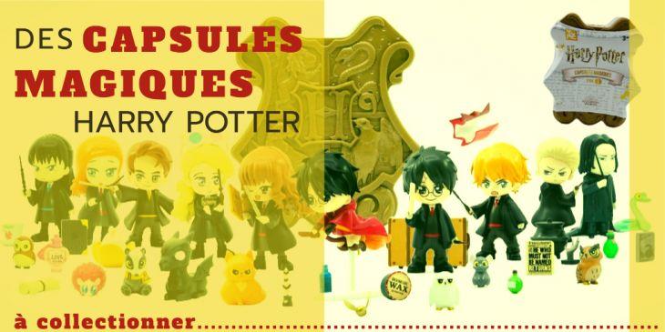 Capsules Magiques Harry Potter Dujardin