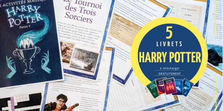 livrets d activités Harry Potter gratuits à télécharger