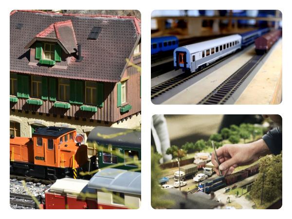 Créer des diorama de trains miniatures ou des maquettes de décor