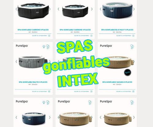 meilleur choix spa gonflable Intex 4 places